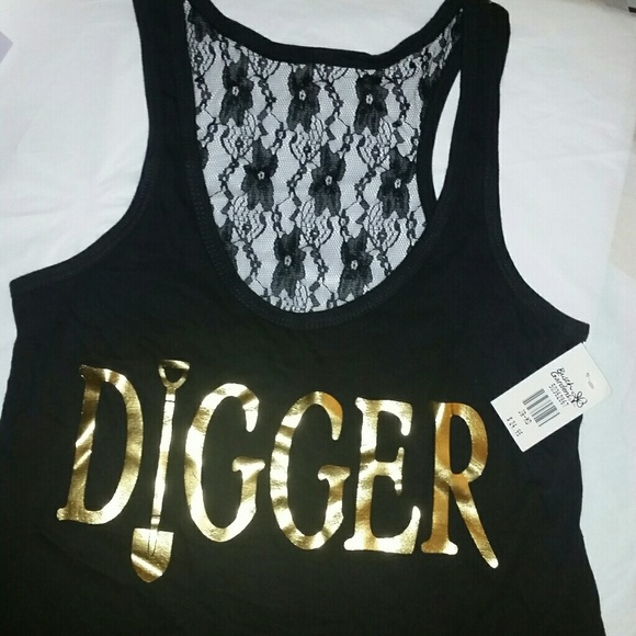 tops high Gold digger